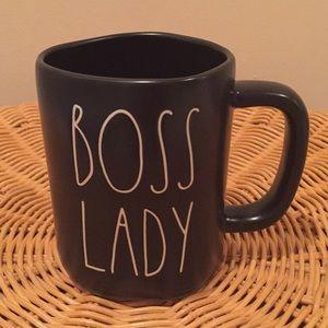 """Rae Dunn """"Boss Lady"""" ceramic mug."""